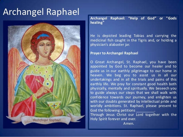 Archangels icons, their attributes and prayers