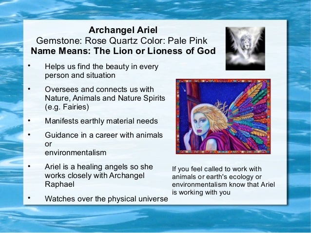 The Specialties of The Archangels