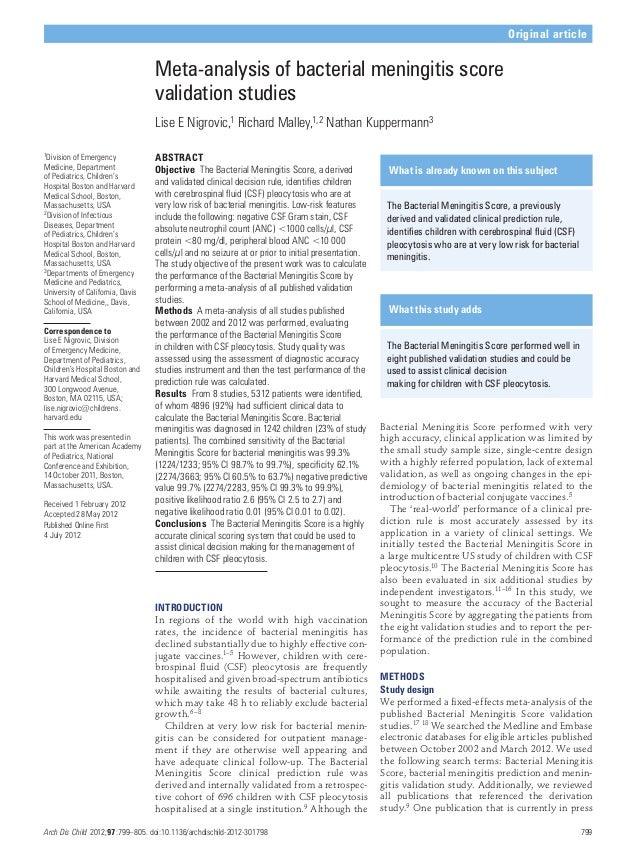 Arch Dis Child 2012;97:799–805. doi:10.1136/archdischild-2012-301798 799 Original article 1Division of Emergency Medicine,...