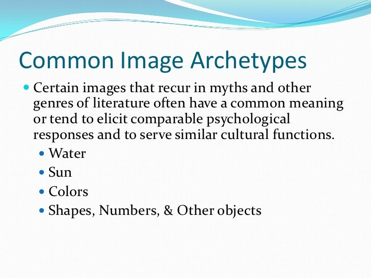 Archetypal Symbols Best