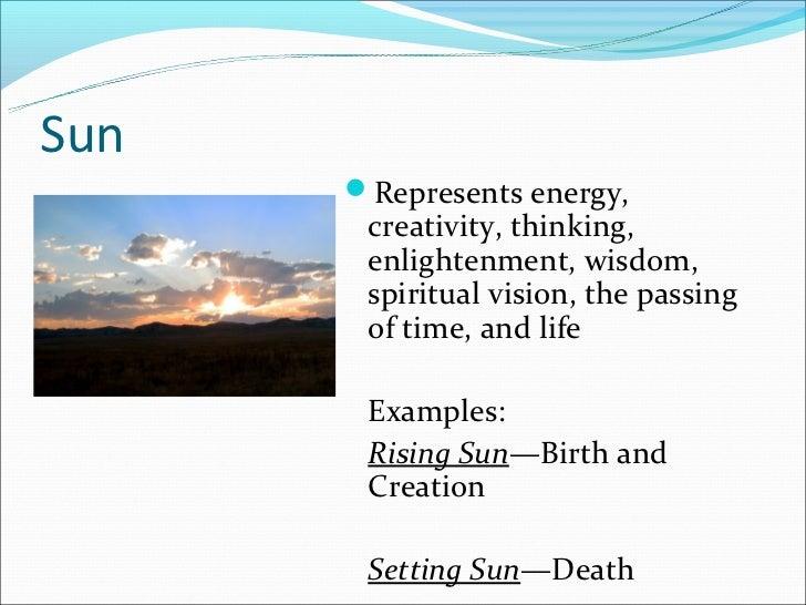 sun symbolism in literature