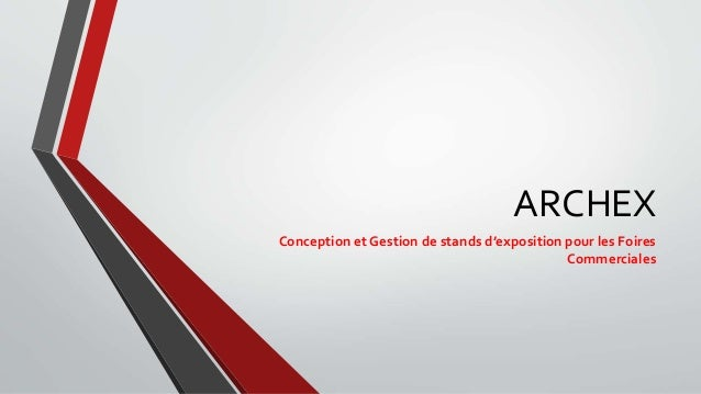 Conception et gestion de stands d exposition pour les foires commerci for Conception stand de foire