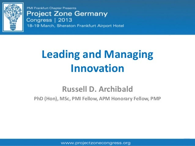 Tools for Managing Innovation and Change Management