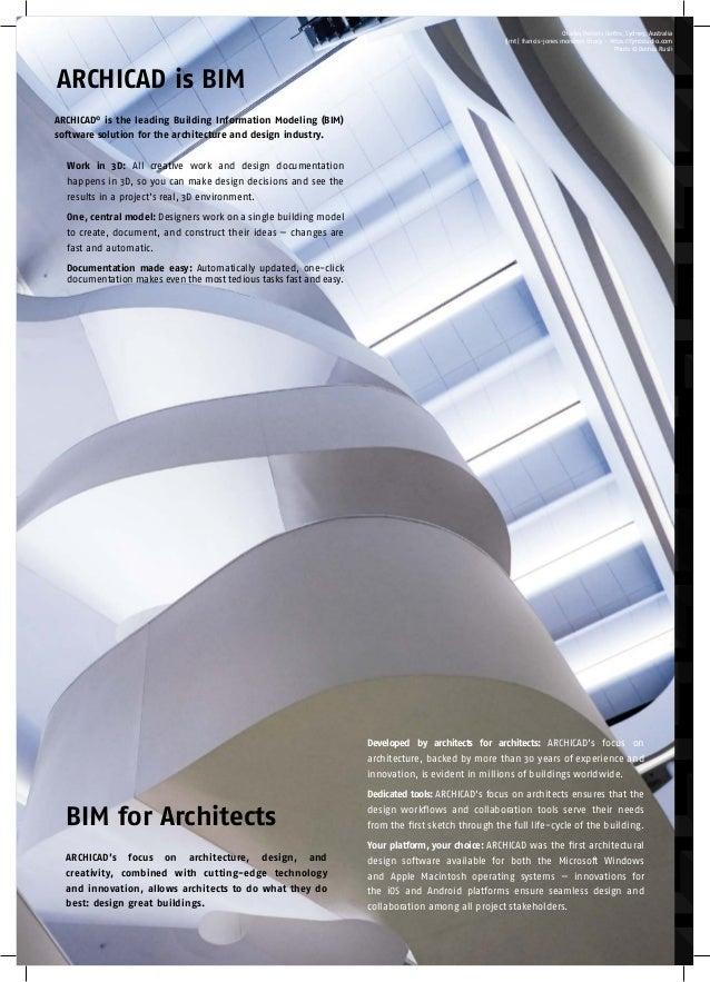 ARCHICAD 21 Brochure