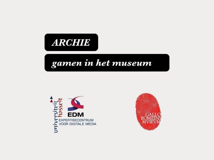 iDiscover - Gamen in het Gallo-Romeins Museum
