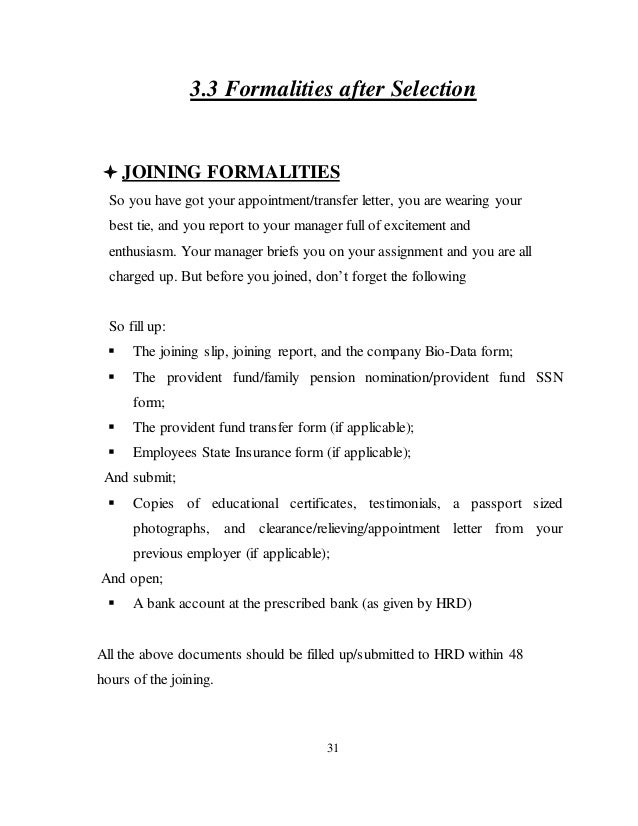 new employee joining format ining letter for appointment template resume pdf download annexureannexure jaipuria institute of