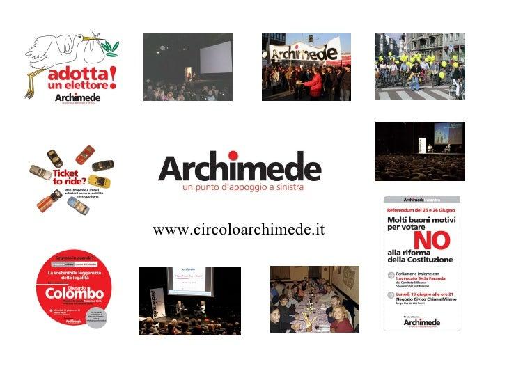 www.circoloarchimede.it