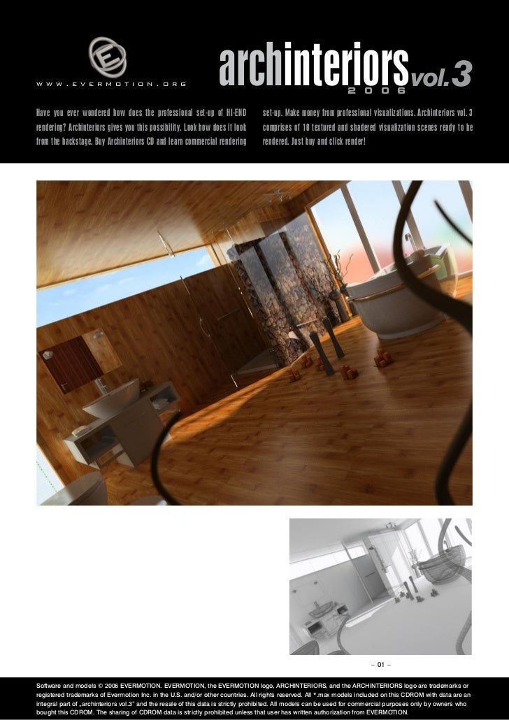 www.evermotion.org                                               archinteriorsvol.3                            2 0 0 6Have...