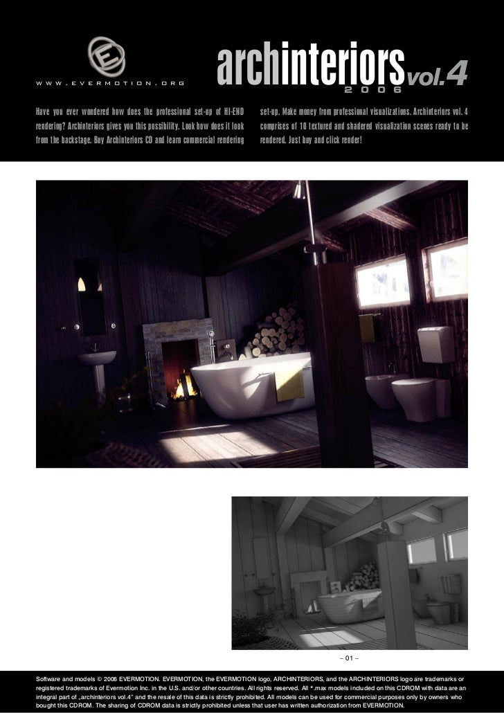 www.evermotion.org                                               archinteriorsvol.4                            2 0 0 6Have...