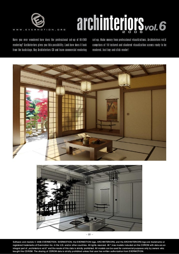 www.evermotion.org                                               archinteriorsvol.6                            2 0 0 6Have...