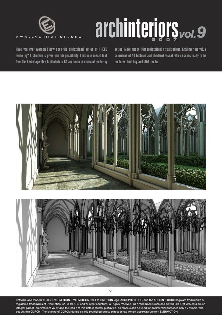 www.evermotion.org                                               archinteriorsvol.9                            2 0 0 7Have...