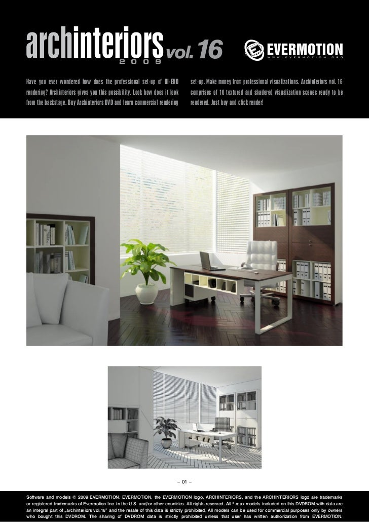 archinteriors vol.16                         2 0 0 9Have you ever wondered how does the professional set-up of HI-END     ...