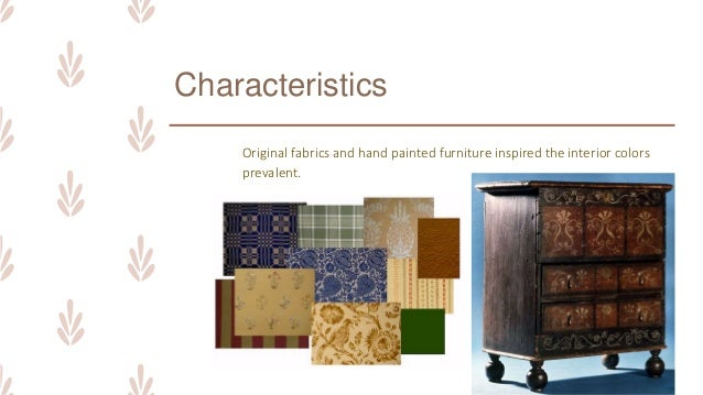 ARCHINT Colonial Period Interior Design Furniture Design