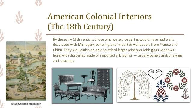 5  American Colonial Interiors  The 18th Century. ARCHINT  Colonial Period  Interior Design   Furniture Design