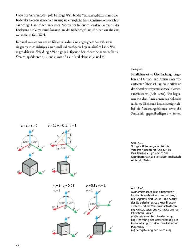 Aufriss Zeichnen architeckturgeometrie
