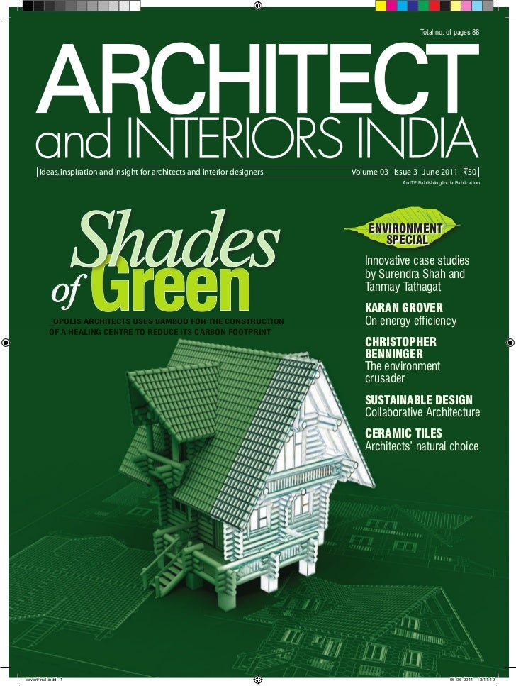 Total No Of Pages 88 Ideas Inspiration And Insight For Architects Interior Designers
