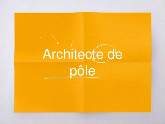 Architecte de pôle