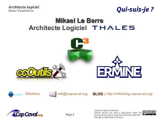 Retour D 39 Exp Rience Du M Tier D 39 Architecte Logiciel