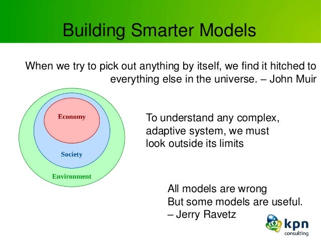 Building Smarter Models When we try to pick out anything by itself, we find it hitched to everything else in the universe....