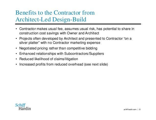 Architect Led Design Build A Practical Business Plan