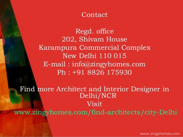 Architects and Interior Designer in DelhiNCR