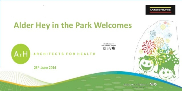 Alder Hey in the Park Welcomes 26th June 2014