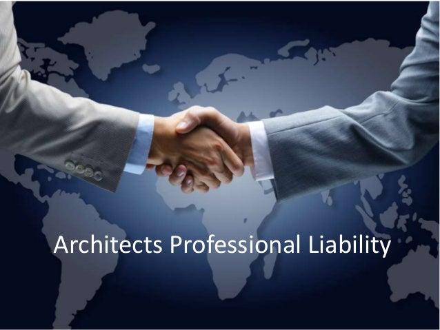 Architects Professional Liability