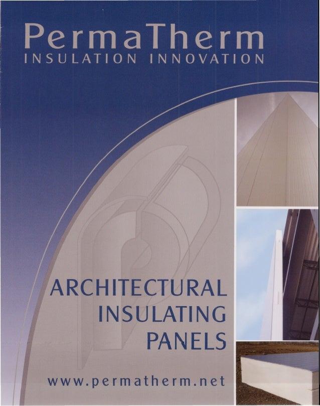 PermaTherm Architectual Insulation Panels