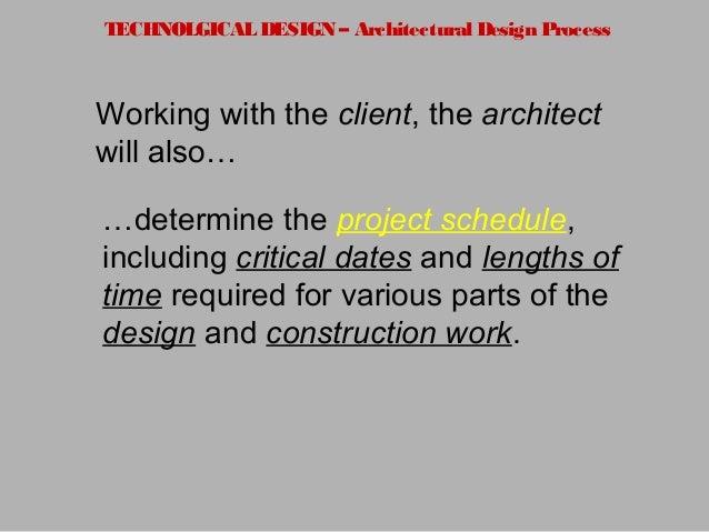 Architecture Design Process architectural design-process