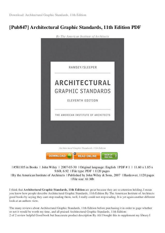 review architectural graphic-standards-11th-edition-pdf-e6cb2