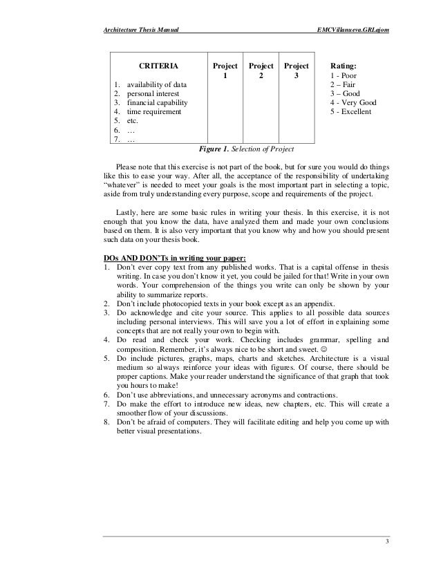 Selection Criteria Exposed Pdf