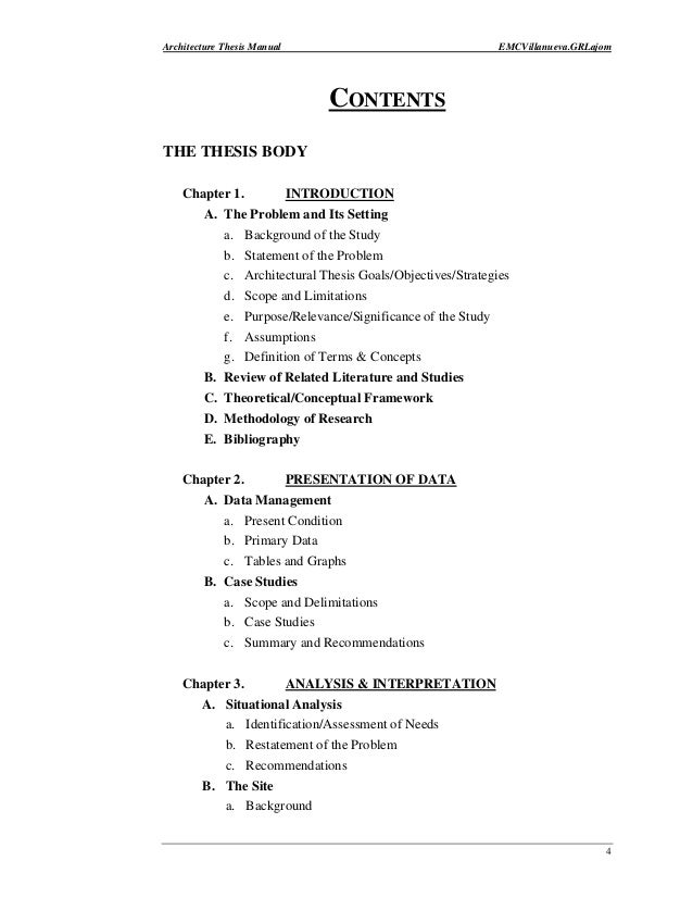 thesis chapter 2 contents Chapter 2: english majors in china: scan tables of contents from key journals thesis and dissertation writing in a second language.