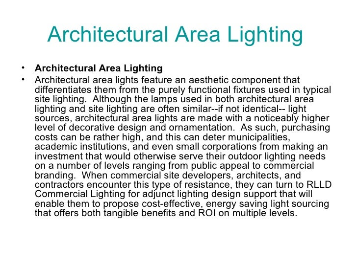 Architectural Area Lighting U003culu003eu003cliu003eArchitectural Area Lighting U003c/liu003e ...