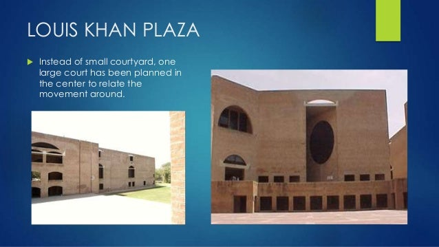 Architectural case study of iim ahemdabad by louis i khan for Louis i khan