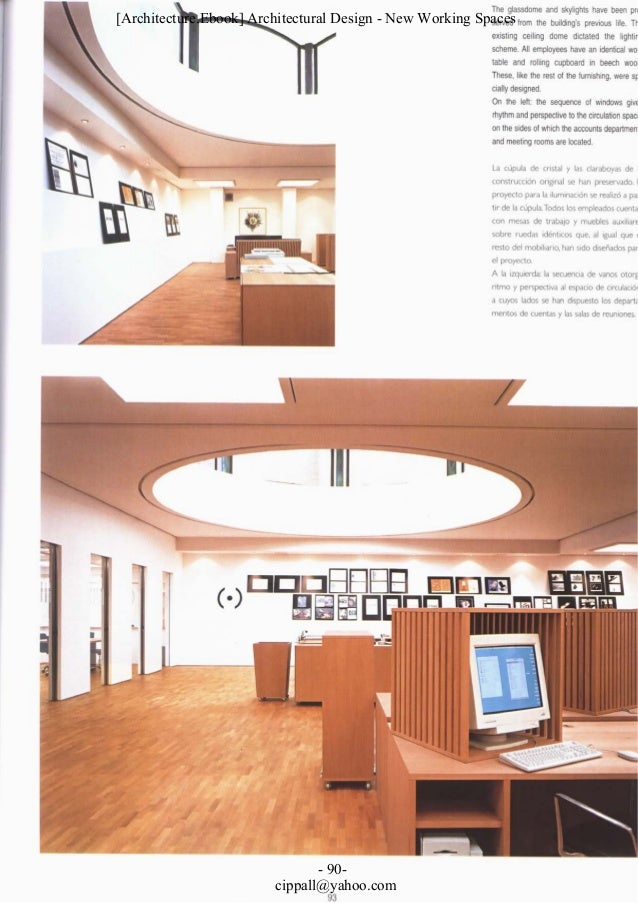 Architectural design new working spaces for Latest architectural design