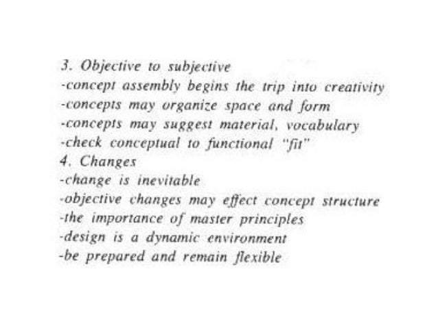 Architecture Design Vocabulary architectural design concepts approaches