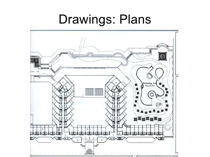 Architectural Drawings The language of architectural design