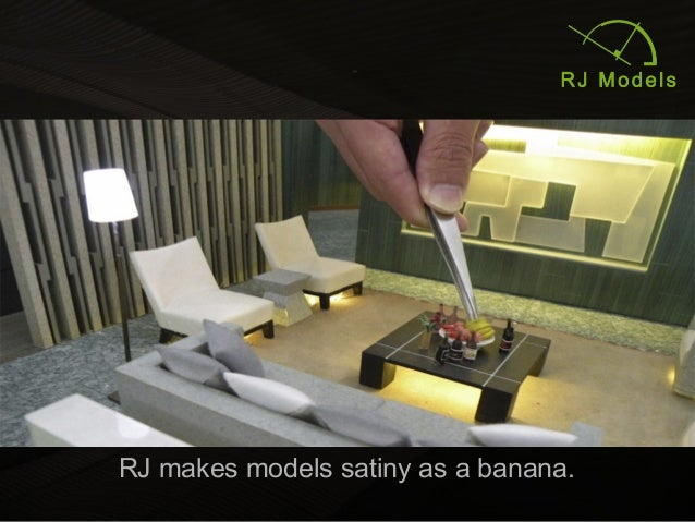 5 RJ Makes Models Satiny As A Banana.