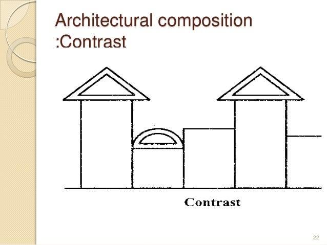 Architectural composition :Contrast 22