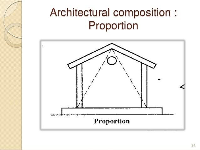 Architectural composition : Proportion 24