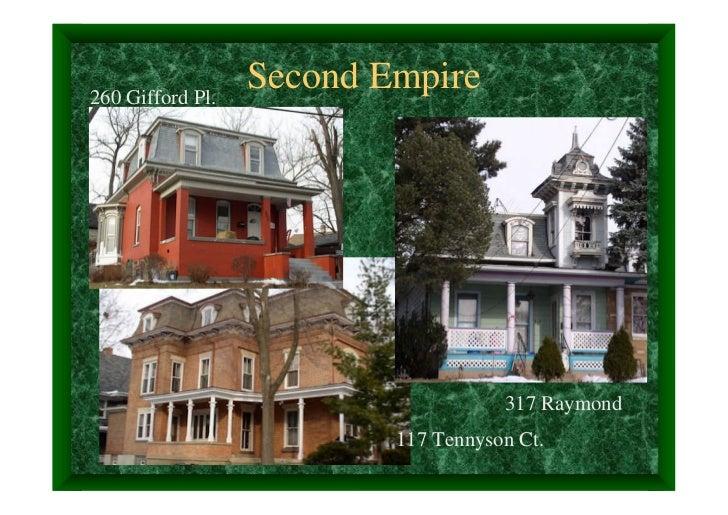 260 Gifford Pl.                  Second Empire                                     317 Raymond                          11...
