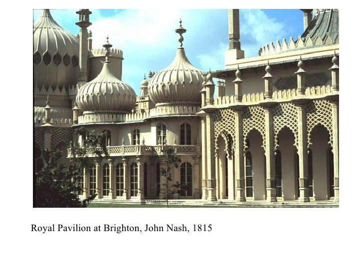 Royal Pavilion at Brighton, John Nash, 1815