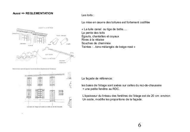 Architecture modernit ou tradition - Tuile tige de botte ...