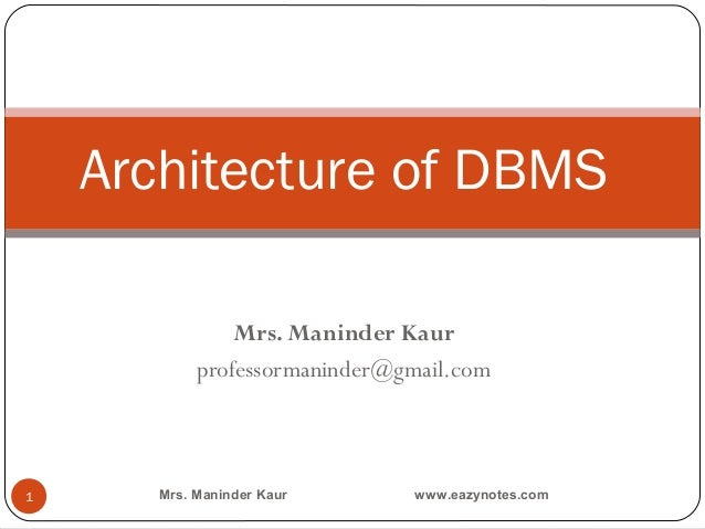What is Data Independence of DBMS