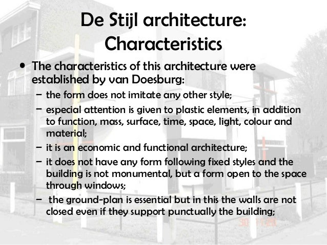 Architecture and avant garde (new)