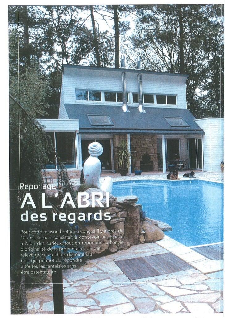 Architecture bois - juillet 2010