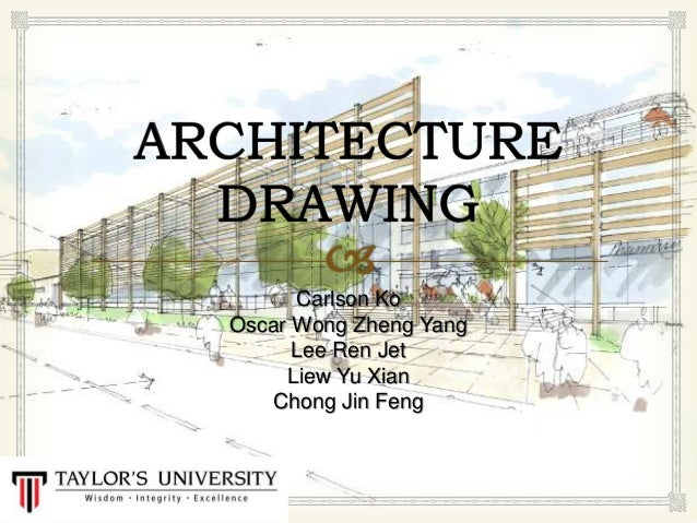 architecture drawing presentation