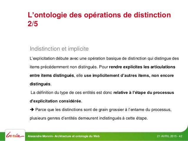Architecture du web et ontologie d op rations for Architecture definition philosophique