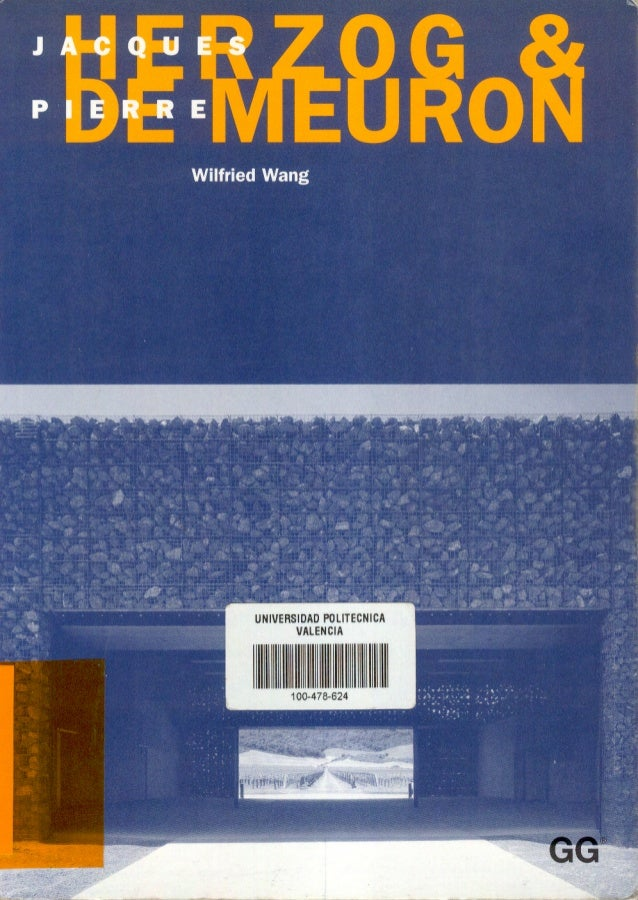 Architecture ebook el croquis herzog de meuron for El croquis pdf