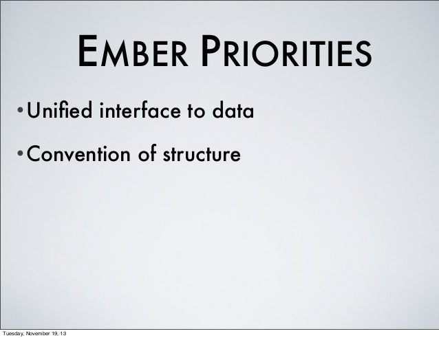 Architecture: ember.js and AngularJS